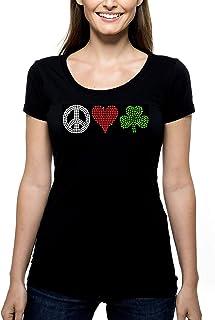 c8d796af9e94d Amazon.com: green vneck womens - T-Shirts / Tops & Tees: Handmade ...