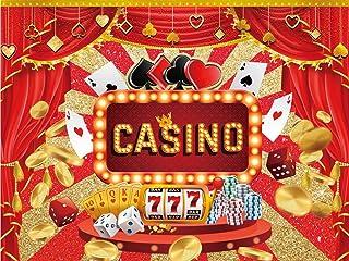 Casino Happy Birthday Kulissen, Partyzubehör, Banner