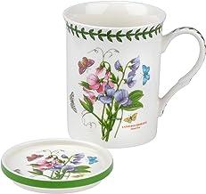 Portmeirion Botanic Garden Sweet Pea Mug and Coaster Set