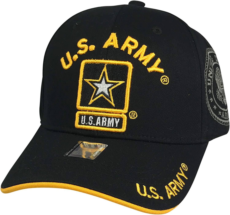 Prfcto Lifestyle US Army Baseball - Military Hat Max 44% OFF Baseba Licensed Choice