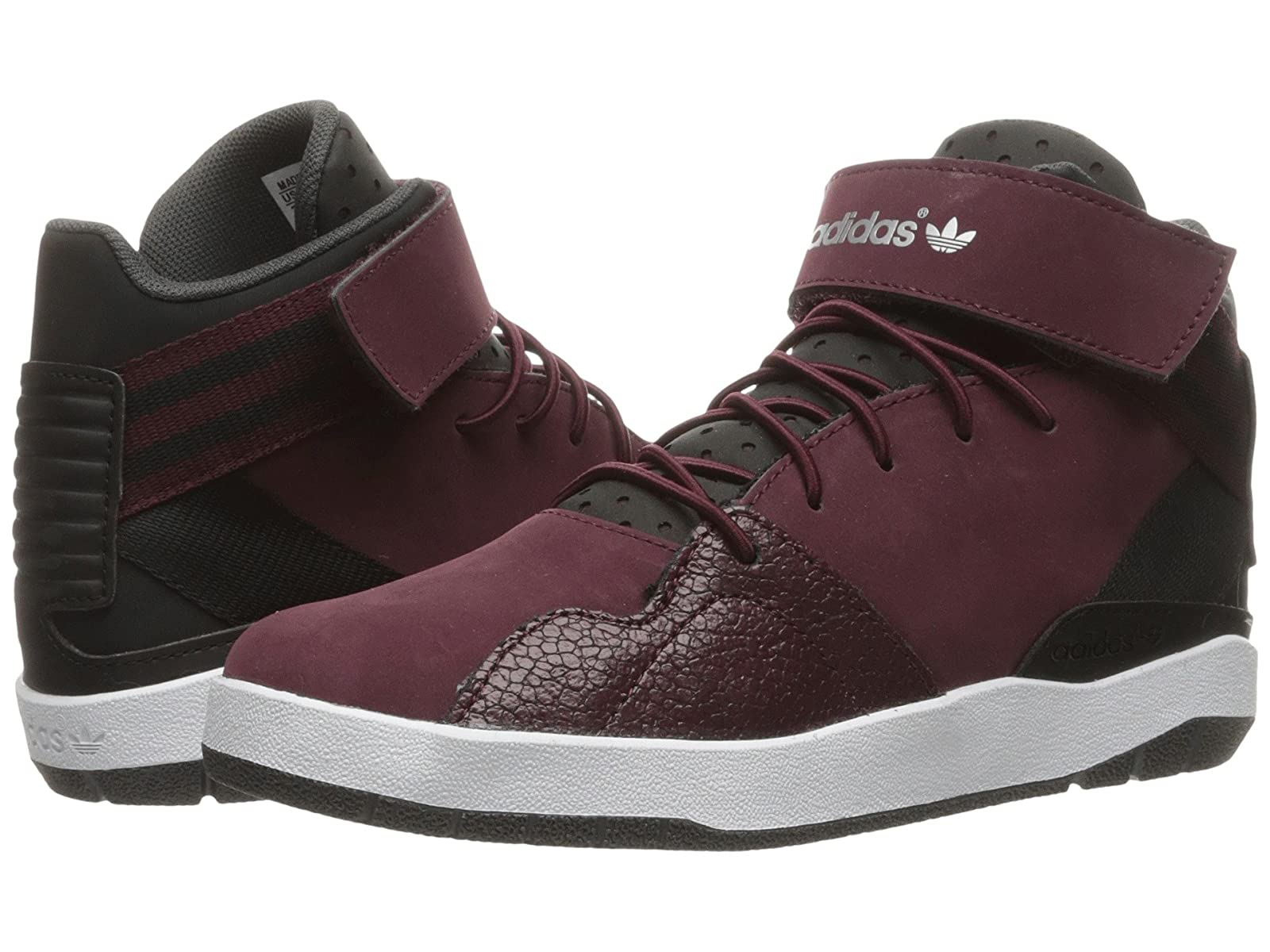 adidas Originals Kids Crestwood Mid (Little Kid)Stylish and characteristic shoes