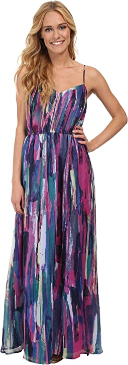 Jack by BB Dakota Barby Paintstroke Printed Dress