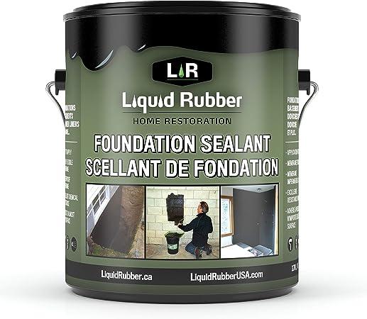 Liquid Rubber Concrete Foundation and Basement Sealant