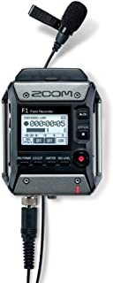 Zoom F1-LP Lavalier Body-Pack Recorder, Audio for Video Recorder, Records to SD Card, Battery Powered, Includes Lavalier M...