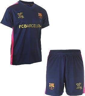 234caeb6feb1d Fc Barcelone Maillot + Short Barca - Collection Officielle Taille Enfant  garçon