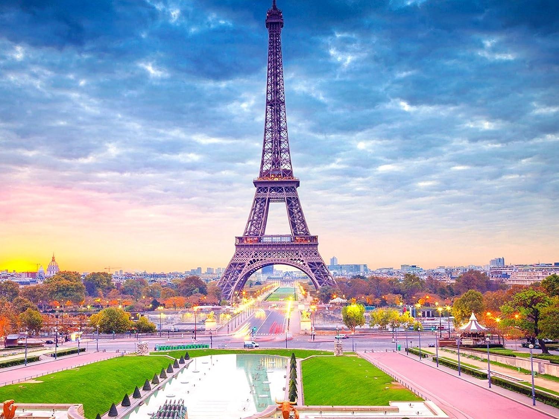 Zhuixing Diamant Gemälde Turm Durch Nummer Kits Kits Kits Voll Bedeckt Bohren Stickerei Strass Kreuz Stich Kunst DIY 5D Mosaik Paris Landschaft Bild,Circulardiamond,6045Cm B07BY8G3S3 | Online Shop Europe  0c3c1c