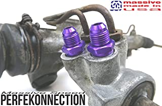 Purple Massive Mani Couplers Intake Manifold Silicone Upgrade Ford Focus SVT Compatible w// 02-04 ST170 4pc