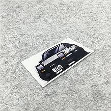 DXYMOO AE86 Car Stickers Motocross Drift Tengoku Japanese Motorcycle Helmet Phone Vinyl Decal Bumpers 3M 10x6cm