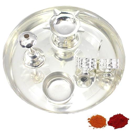 Silver Pooja Items: Amazon com