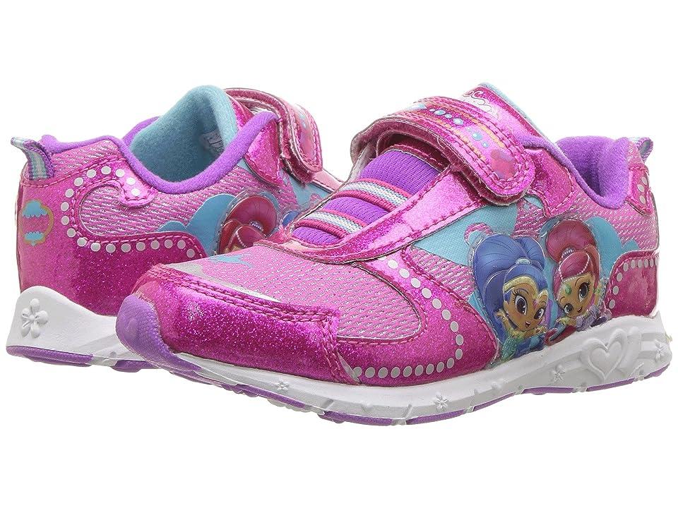 Josmo Kids Shimmer Shine Lighted Sneaker (Toddler/Little Kid) (Pink) Girl