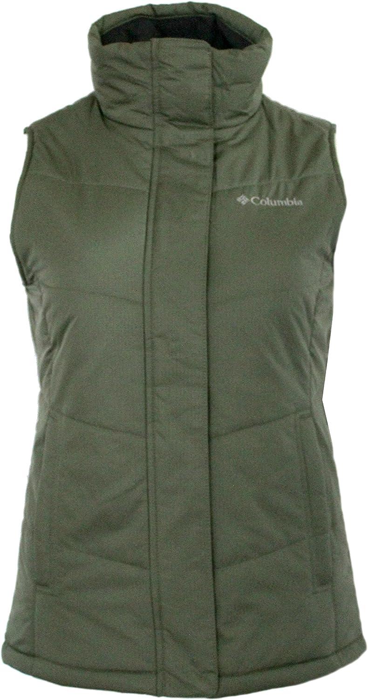 Columbia Women's Horstman Glacier III Fleece Lined Insulated Puffer Full Zip Vest