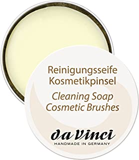 da Vinci Cosmetics Series 4833 Brush Cleaning Soap, Large, 85 Gram