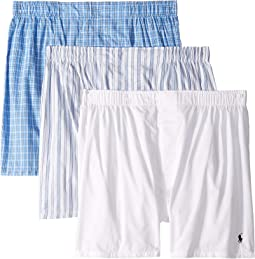 Classic Fit 3 Packaged Woven Boxers