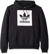 adidas Originals Men's Skate Solid Blackbird Hooded Sweatshirt