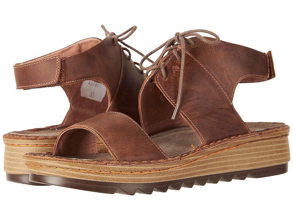 Naot Alpicola (Saddle Brown Leather) Women