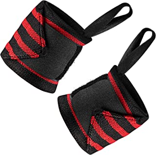 CONICE NINI Wrist Wraps Weightlifting,  Suits Men & Women,  Wrist Support for Strength Training, Bodybuilding and Powerlifting 2PCS
