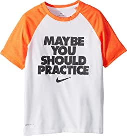 Nike Kids Dry Legend Should Practice Tee (Little Kids/Big Kids)