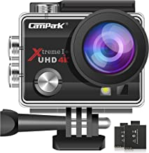Campark ACT74 Action Camera 4K Ultra HD WiFi Underwater...