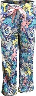 My Little Pony Women's Pastel Ponies Plush Lounge Pant