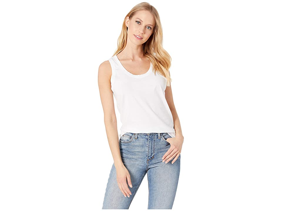 Image of AG Adriano Goldschmied Cambria Tank (True White) Women's Clothing