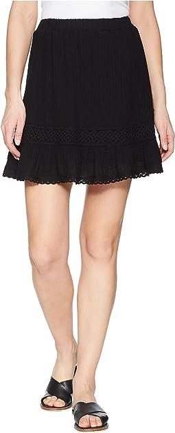 Michael Stars - Double Gauze Peasant Skirt