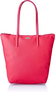 Lacoste NF1890PX L1212 Vertical Tote, Virtual Pink