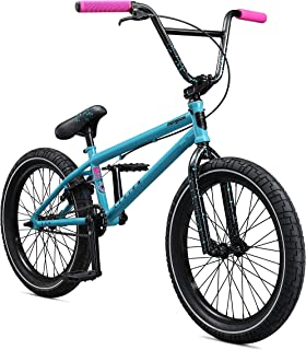 Mongoose Legion L60 Freestyle BMX Bike, 20-Inch Wheels, Blue