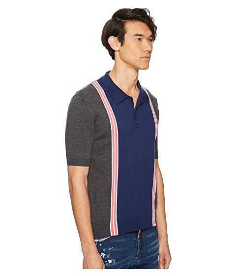 DSQUARED2 Polo Striped DSQUARED2 Striped Sweater xUqS5SYFw
