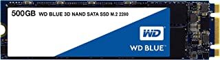 【国内正規代理店品】Western Digital WD Blue 内蔵SSD M.2-2280 3D NAND 採用 500GB SATA 3.0  WDS500G2B0B