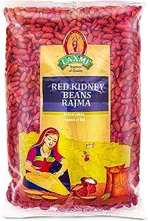 Laxmi Red Kidney Beans Rajma, Product of USA (4lbs)