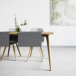 Mistral Home Chemin de Table Gris Foncé - 45x145 cm - Linge de Table Anti-Taches - mélange Coton Polyester - décoration de...