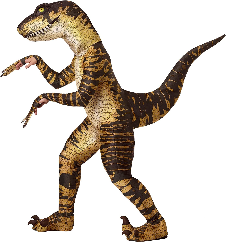 deportes calientes Adult Raptor Fancy Dress Dress Dress Costume X-Large  saludable