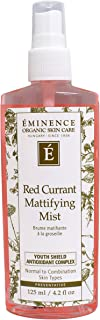 Eminence Organic Red Currant Mattifying Mist, 4.2 Ounce