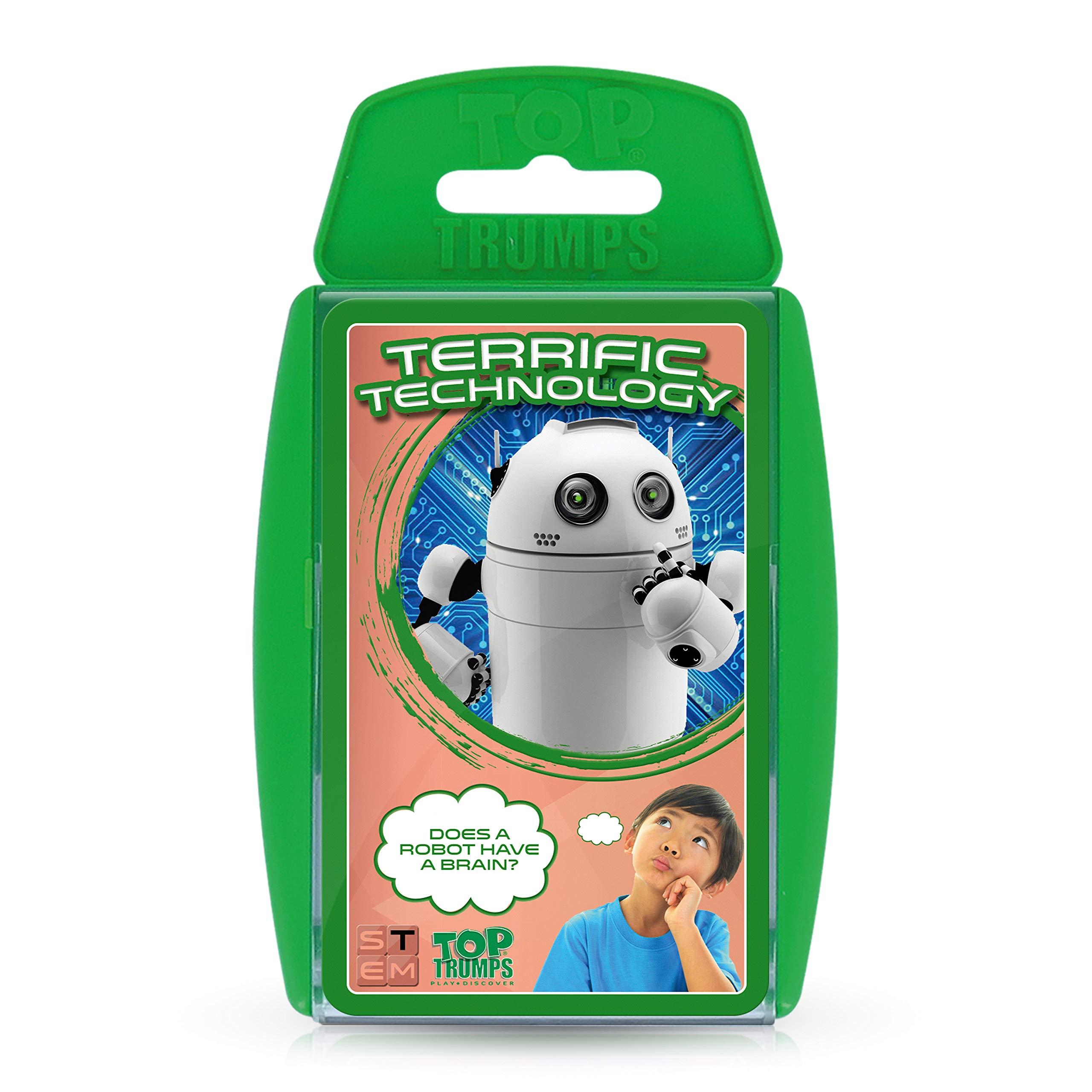 Terrific Technology Top Trumps STEM Card Game Top Trumps USA 002449
