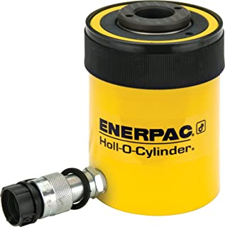 Enerpac RCH-202 Single-Acting Hollow-Plunger Hydraulic Cylinder with 20 Ton Capacity, Single Port, 2.00