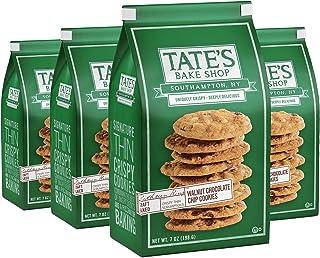 Tate's Bake Shop Thin & Crispy Cookies, Walnut Chocolate Chip, 7 Oz, 4Count