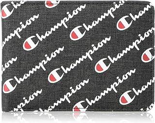 Champion Men's Bifold Wallet, Black, One Size