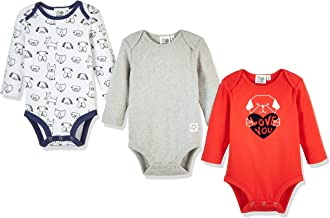 Silly Apples Baby Toddler Boys or Girls Fall Outfit 3-Pack Bodysuit Onesies