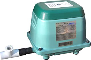 HiBlow 40 Septic Linear Air Pump (Longest Lasting Pump on The Market) w/Back Pressure Safety Valve
