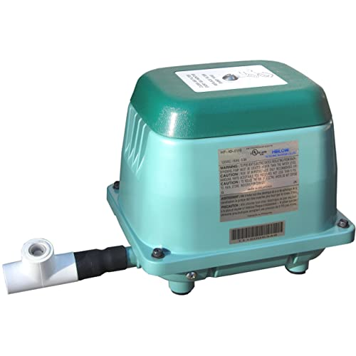 HiBlow 40 Septic Linear Air Pump (Longest Lasting Pump on The Market) w/