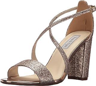 Touch Ups Women's Micah Heeled Sandal, Rose Gold, 8 M US