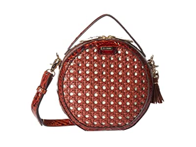 Brahmin Lima Lane Crossbody (Pecan) Cross Body Handbags