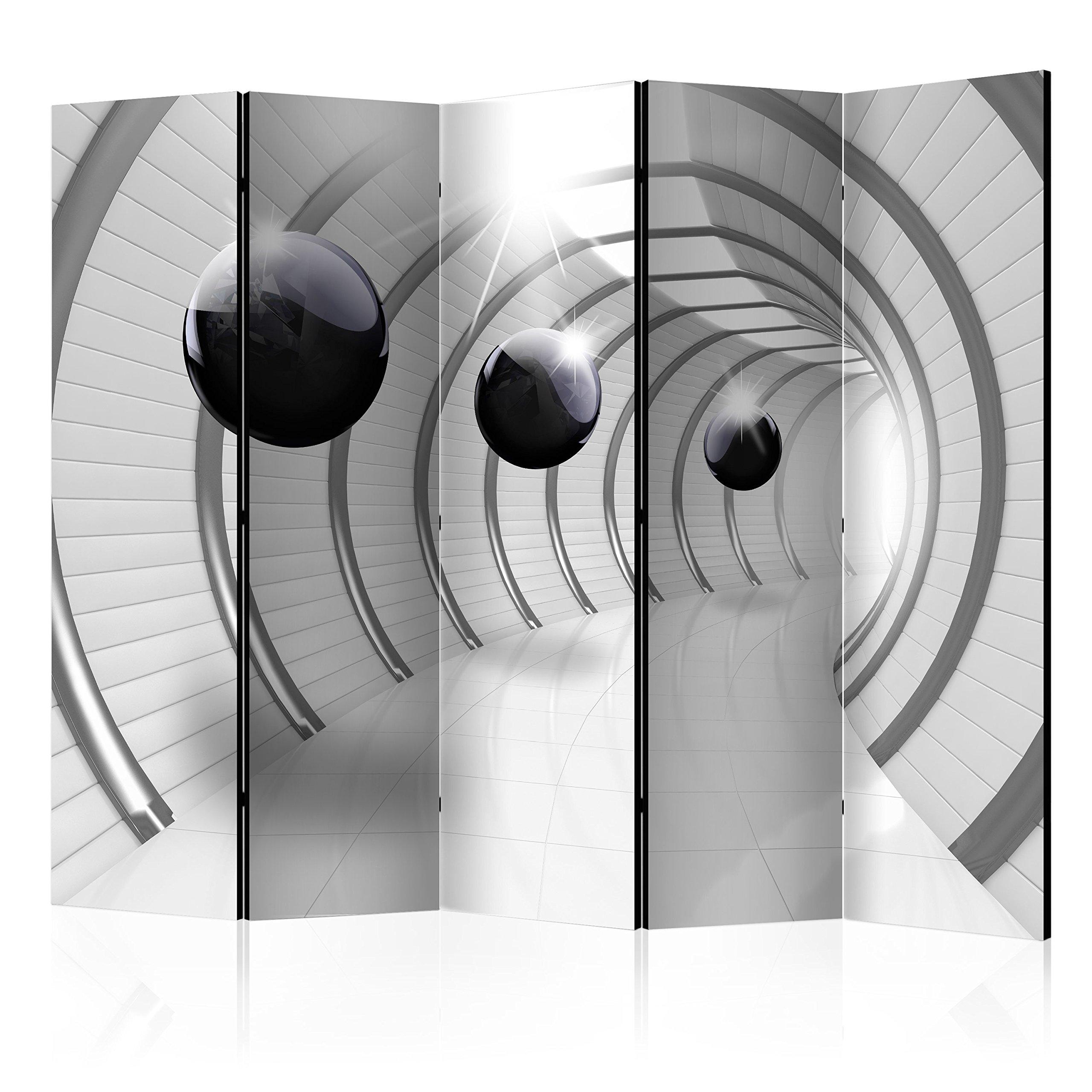 Biombo decorativo plegable murando, separador de habitación, #21, XXL: 5 x 172x45 cm double-sided: Amazon.es: Hogar