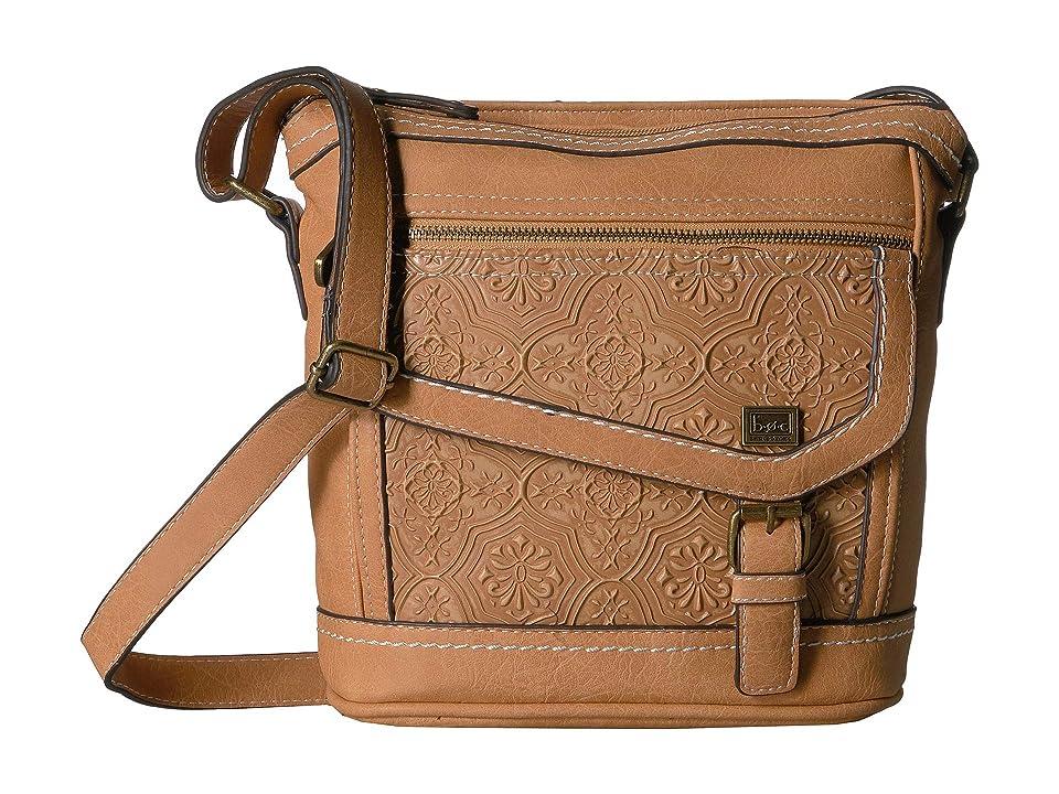 b.o.c. Amherst Crossbody (Luggage) Cross Body Handbags, Brown