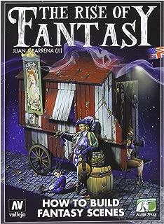 Vallejo 75005 The Rise of Fantasy by Juan J Barrena (JJ) Book
