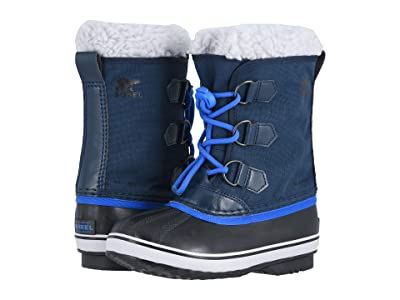 SOREL Kids Yoot Pactm Nylon (Little Kid/Big Kid) (Collegiate Navy/Super Blue 1) Boys Shoes