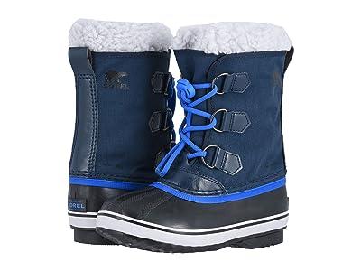 SOREL Kids Yoot Pac Nylon (Little Kid/Big Kid) (Collegiate Navy/Super Blue 1) Boys Shoes