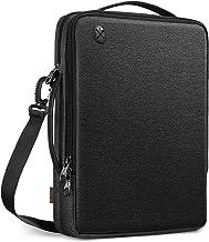 """کیف شانه Laptop Tablet FINPAC 13 Inch for 13.3 Inch MacBook Pro / Air، 12.9 """"iPad Pro، کیسه Crossbody مقاوم در برابر آب با جیب Organizer Organics for Surface Pro / Dell - مشکی"""
