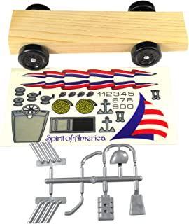 Pinewood Pro Derby Car Kit