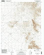YellowMaps Ben Nevis Mountain AZ topo map, 1:24000 Scale, 7.5 X 7.5 Minute, Historical, 1996, Updated 2001, 26.7 x 22 in